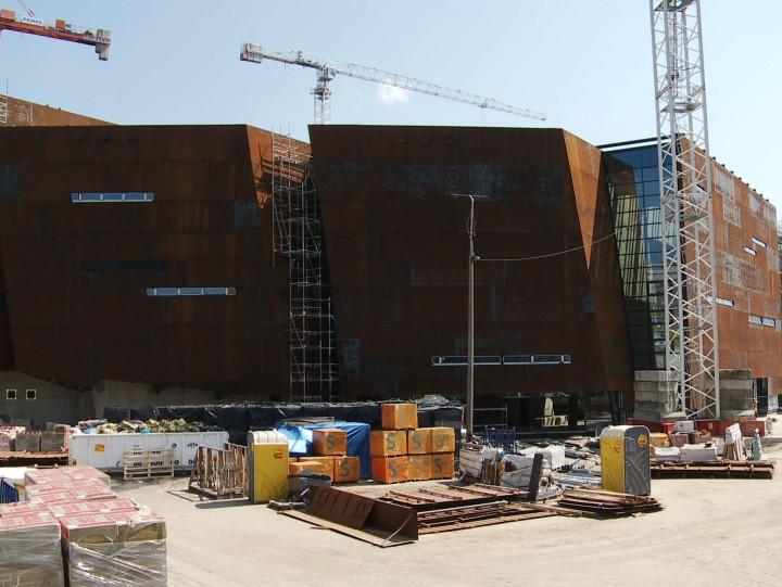 Budowa ECS w2012 roku.