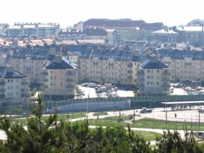 Orunia Górna - widok z wieży widokowej Kozacza Góra