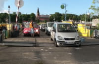 Prom zastąpił zamknięty dla ruchu Most Sobieszewski