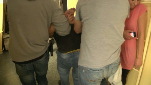 Dwaj sprawcy napadu na placówkę bankową zatrzymani