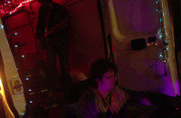 Impreza w busie na molo w Brzeźnie