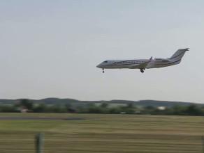 Samolot z zespołem Bon Jovi wylądował w Rębiechowie