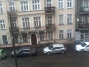 Burza zmieniła ul. Jesionową w rwącą rzekę