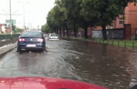 Powódź na Al.Grunwaldzkiej!