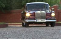 Mercedes W111. Skrzydlaty oldtimer