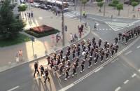 Orkiestra przemaszerowała przez centrum Gdyni