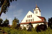Kościół z ujeżdżalni koni