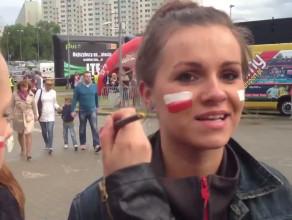 Kibice przed meczem Polska-Argentyna