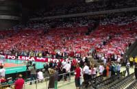 Polski hymn przed meczem z Argentyną w Ergo Arenie