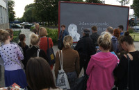 Migracje i Kreacje - wystawa na peronach SKM