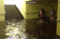 Zalane przejście podziemne SKM Sopot Kamienny Potok