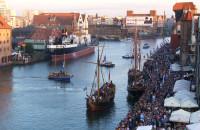Bitwa morska na Motławie podczas Baltic Sail 2013