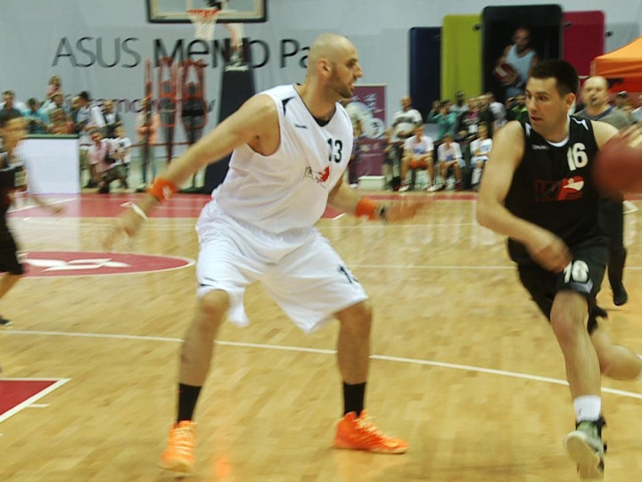 Marcin Gortat po raz kolejny był zachwycony atmosferą w Ergo Arenie.