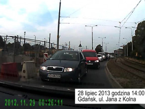 Jak sie jeździ w Gdańsku - pod prąd