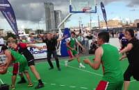 Radni Gdyni zagrali z Meksykanami w koszykówkę