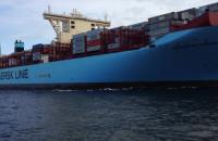 400-metrowa burta największego kontenerowca