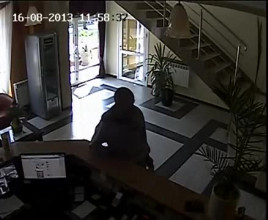 Kradzież telefonu z recepcji gdańskiego hotelu