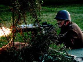 Inscenizacja walk na Westerplatte