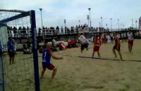 Beach Handball Camp 2013 Mecz Gwiazd