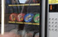 Automat z przynętami na ryby