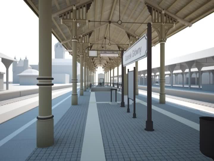 Zobacz wizualizację budowy przedłużenia linii SKM do przystanku SKM Śródmieście.