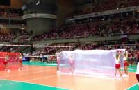 Cheerleaders podczas meczu Polaków na ME
