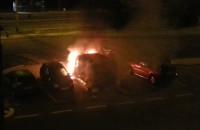 Pożar samochodu na Cisowej