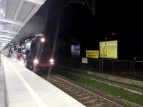 Przejazd zabytkowych parowozów 52 8079 / Ty42-107
