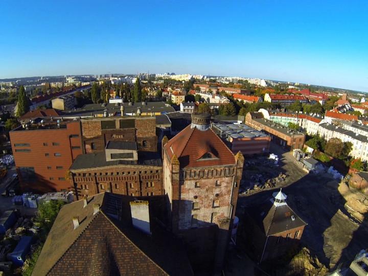 Zobacz okolice dawnego browaru we Wrzeszczu.