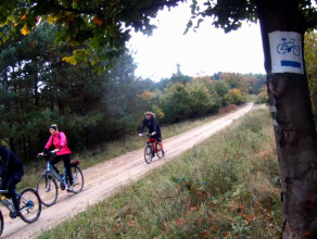 Szlak rowerowy Lębork - Gdańsk