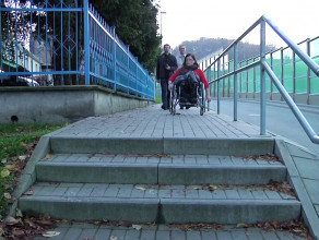 Niepełnosprawni patrolują ulice