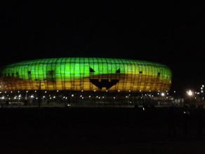 PGE Arena największą halloweenową dynią
