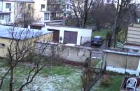 Pierwszy śnieg w Gdańsku