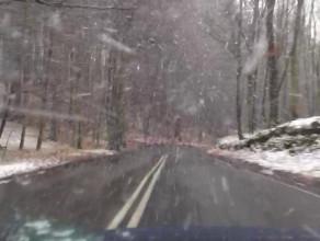 Pierwszy śnieg w Trójmieście
