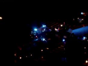 Radiowóz ścigał pijanego kierowcę