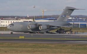 Boeing C-17 Globemaster w Rębiechowie