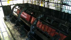 Wywraca wagony z węglem