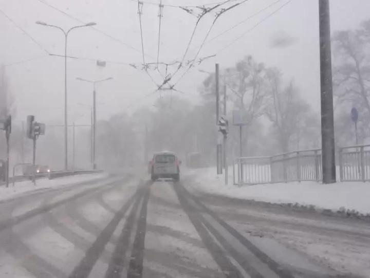 Tak wyglądają dziś ulice wGdyni.
