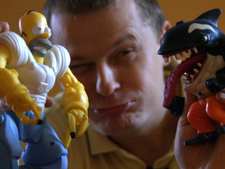 Wojownicze Żółwie Ninja, Rekiny Wielkiego Miasta ipostacie związane zHe-Manem. Zobacz kolekcję Łukasza Kowalczuka, który zbiera figurki bohaterów amerykańskich komiksów iseriali animowanych.
