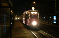 Świąteczny tramwaj