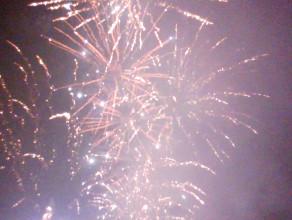 Pokaz fajerwerków w centrum Gdyni Sylwester 2013