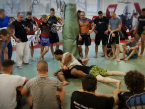 Warsztaty MMA pod okiem legendy