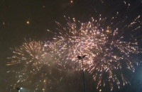 Światełko rozbłysło także na niebie w Gdyni