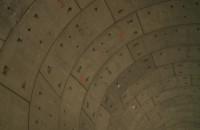 Spacer tunelem pod Martwą Wisłą
