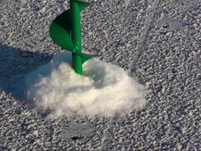 Mroźny styczeń. Martwa Wisła skuta lodem.