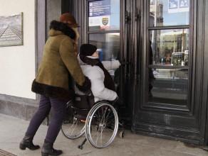 Niepełnosprawny w centrum Gdyni
