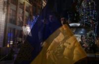 Manifestacja solidarności z Ukrainą