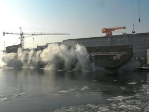 """Wodowanie statku """"Wild Beest"""" w Remontowa Shipbuilding"""