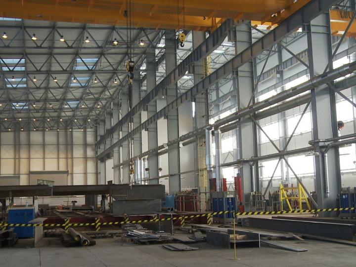 Budowa hali na Nabrzeżu Indyjskim wGdyni była pierwszym inajważniejszym etapem inwestycji Grupy Vistal ołącznej wartości 102 mln zł,
