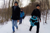 Zimowa wędrówka Szlakiem Kaszubskim